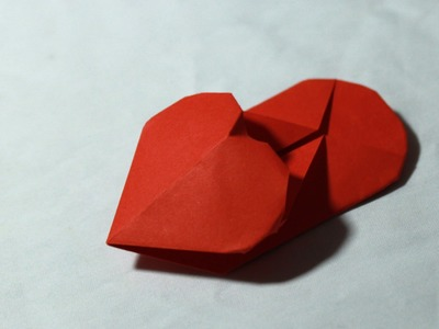 Origami Heart slipper tutorial - DIY (Henry Phạm)