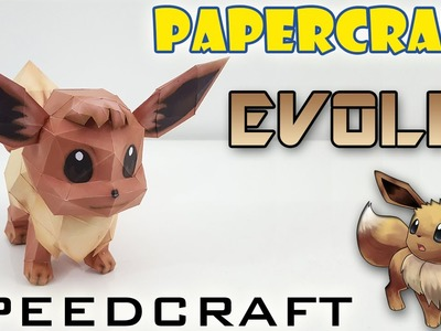 Papercraft - Evoli - Le SpeedCraft de la réalisation !