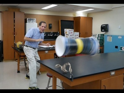 Physics of toys- Cup Flyers. Homemade Science with Bruce Yeany