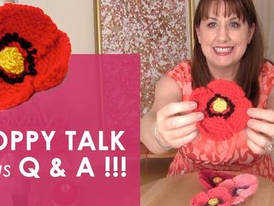 Poppy Talk + Knitting Q&A