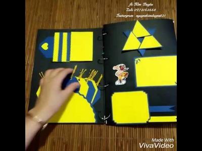 Scrapbooking.Handmade  by Kim Duyên.zalo  0973163558