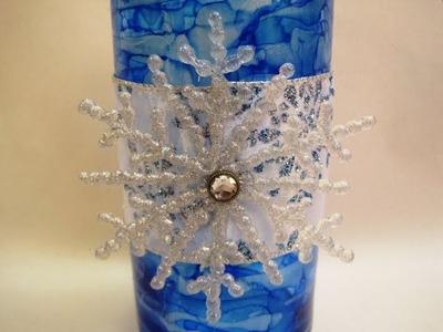 Snowflake Vase ~ Featuring Miriam Joy