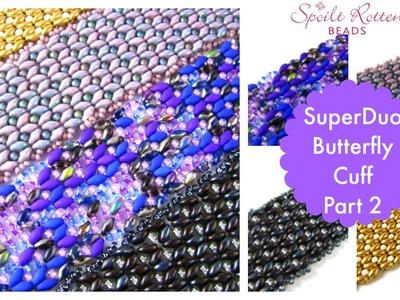 Superduo Butterfly Cuff part 2