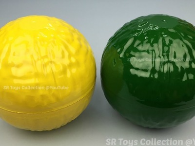 Surprise Balls for Learning Colours