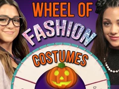 1 Minute Halloween Costume Challenge with Niki and Gabi #WheelOfFashion