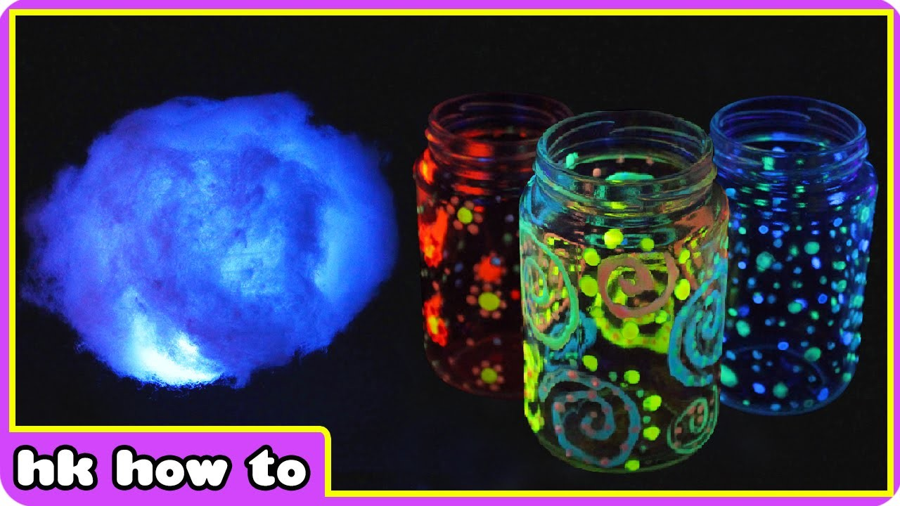 3 Super Amazing and Simple Glow In The Dark Decorating Ideas by HooplaKidz How To