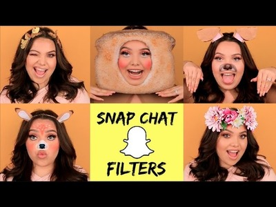 5 EASY SNAPCHAT FILTERS FOR HALLOWEEN!