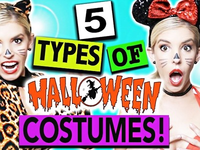 5 Types Of Halloween Costumes