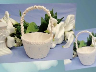 BBCrafts' Beautiful Flower Girl Baskets