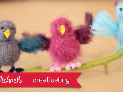 Creativebug: Yarn Birds   Michaels