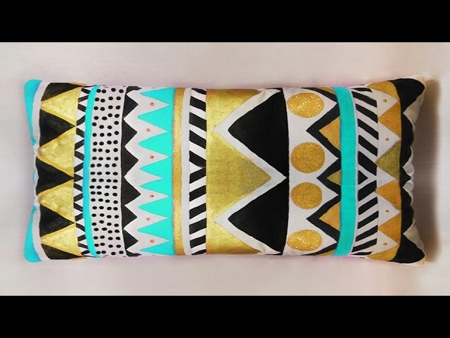 CUSHION ETHNIC TRIBAL DESIGN DO IT YOURSELF