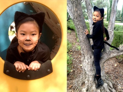 Cute Kitty Cat Girl Halloween Costume Ideas