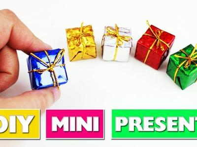 DIY | Dollhouse Miniature Gifts - simplekidscrafts