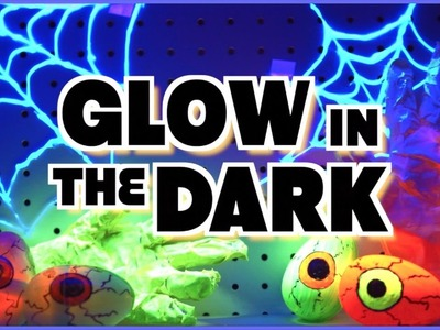 DIY GLOW IN THE DARK ROOM DECOR | Halloween Decor 2016