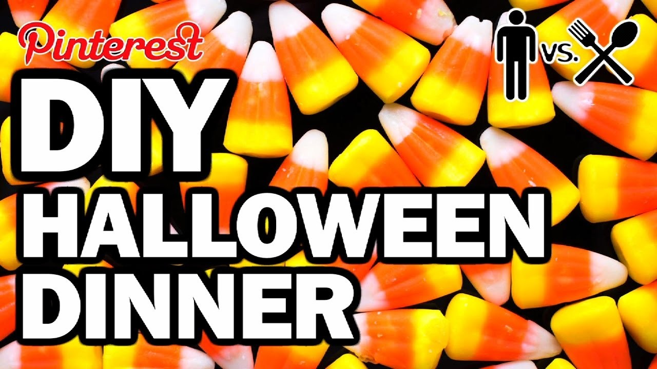 DIY Halloween Dinner - Man Vs Din #5