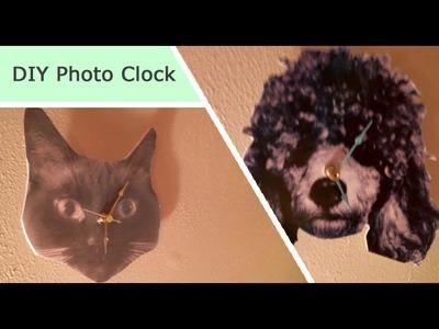 DIY Photo Clock (Great Gift)