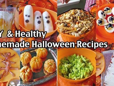 Easy And Healthy Homemade Halloween Food Ideas - Halloween Alternatives