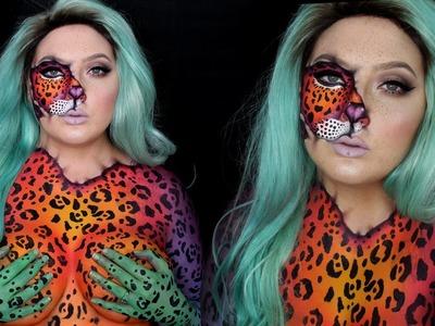 FREE KESHA | Animal Inside Makeup | Jordan Hanz
