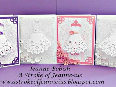 Handmade Dress Card Tutorial