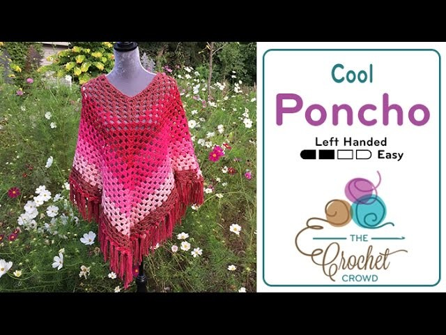 How to Crochet A Poncho