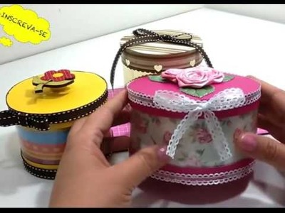 How to Make Boxes Decorated Pet Bottle!