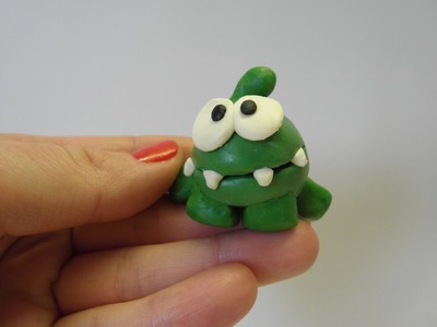 How to make Modelling Clay Om Nom (Weasel's Tutorials)