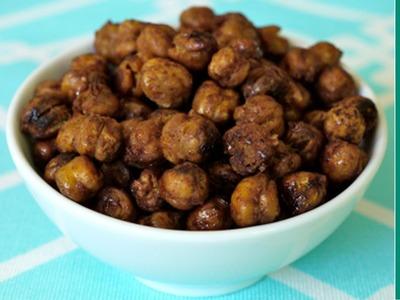 How to make roasted honey cinnamon chickpeas