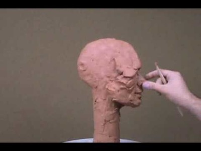 How To Sculpt In Clay  - Sculpting Tutorial - Intro Video To Sculpture Tutorial Video Series