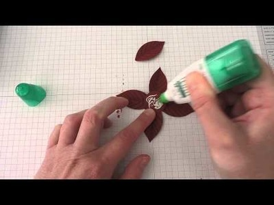 How to use Stampin' Up!'s New Festive Flower Building Punch