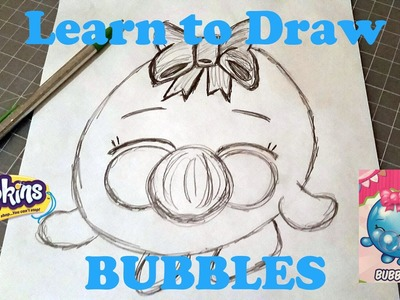 Learn to Draw Shopkins Bubbles