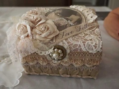 """""""Love Letters""""  Altered Box"""