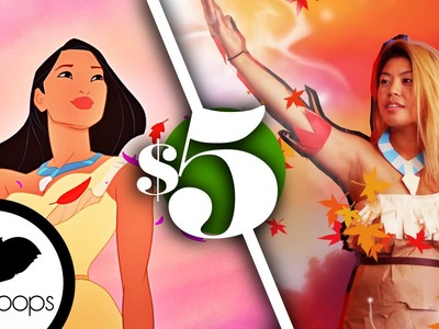 Make a Pocahontas Costume | 5$ Costume | How To