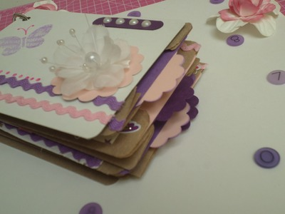 Mini album con bolsas de papel