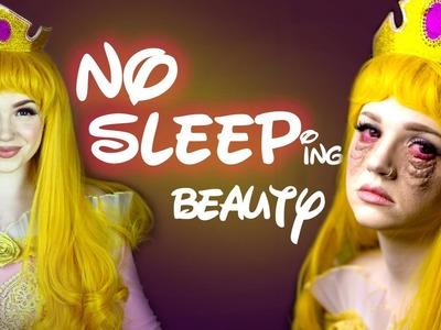 NO SLEEPing Beauty Makeup Tutorial - Glam & Gore Disney Princess