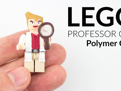 Pokémon from Lego (Professor Oak Minifigure) – Polymer Clay Tutorial