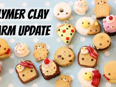 Polymer Clay Charm Update #35