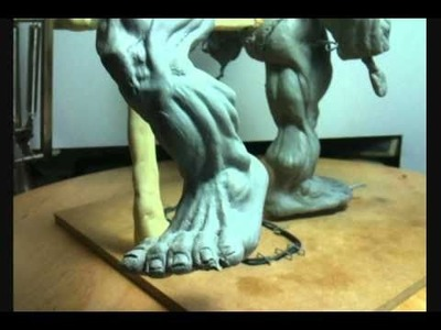 Professional How To Sculpt Superhero Action Figure Anatomical Model Tutorial Part 30 of X