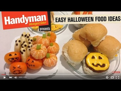 Quick And Easy Halloween Food Ideas