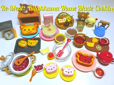 Re-Ment Collection #8: Rilakkuma Home Made Cooking
