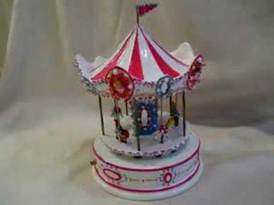REUGE THE CAROUSEL WALTZ SWISS MUSIC BOX