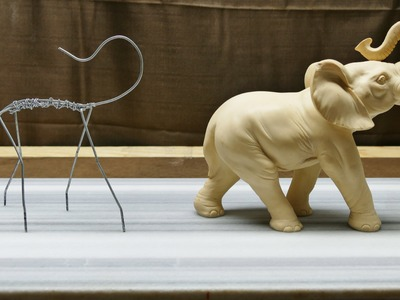 Sculpting an Elephant, part 1: Armature!
