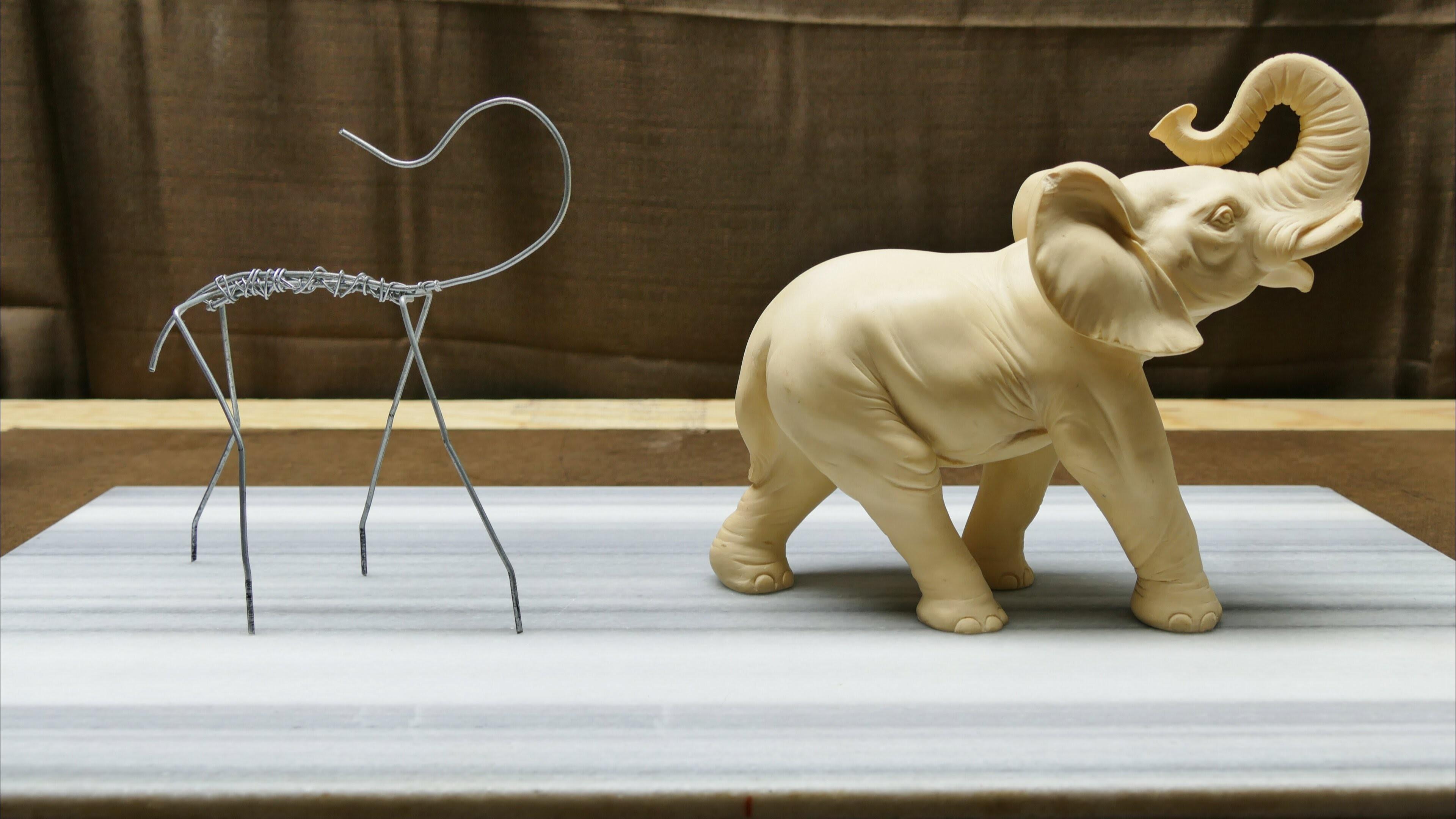 Sculpting an Elephant, part 1: Armature!