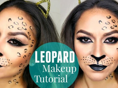 Sexy Leopard.Cheetah Makeup Tutorial | Halloween Makeup Tutorial