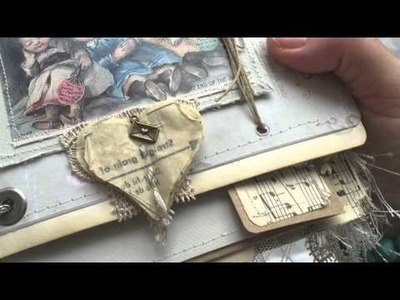 The most Stunning vintage style Junk Journal ever!  Pt 2