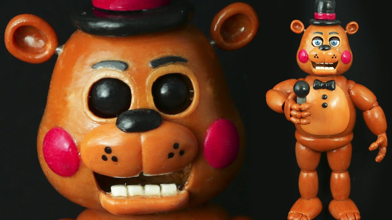 """TOY FREDDY """"TUTORIAL"""" ✔POLYMER CLAY ✔COLD PORCELAIN"""