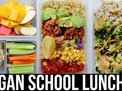 Vegan Lunch Ideas for School & Work ♡ Easy & Healthy ♡ Vegan Recipes
