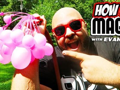 10 How To Balloon Magic Tricks