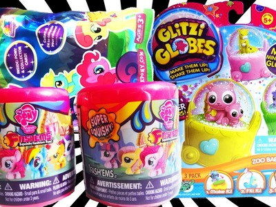 2 Fashems + MLP Blind Bag + Lalaloopsy Blind Bag + Hello Kitty Surprise Egg + My Little Pony Review!