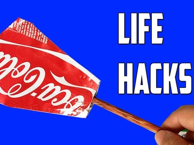 3 crazy things can be made with aluminium can - life hacks