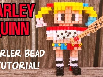 3D Perler Beads HARLEY QUINN Tutorial (Suicide Squad)